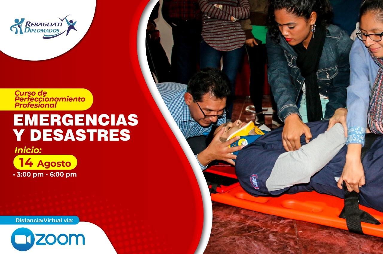 EMERGENCIAS Y DESASTRES 14 AGOSTO 2021